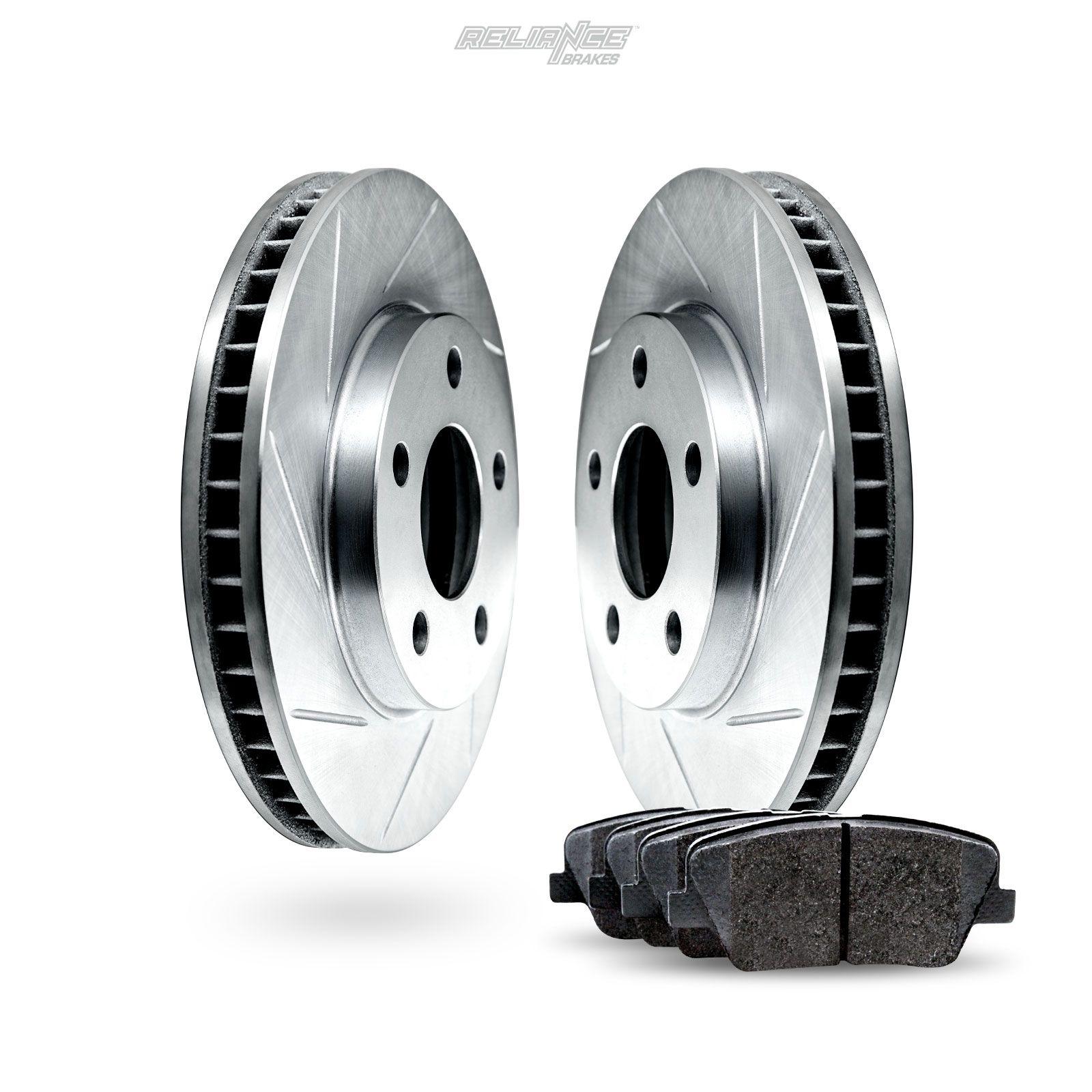 Ceramic Pads C1975 Black Hart *DRILLED /& SLOTTED* Brake Rotors FRONT+REAR KIT