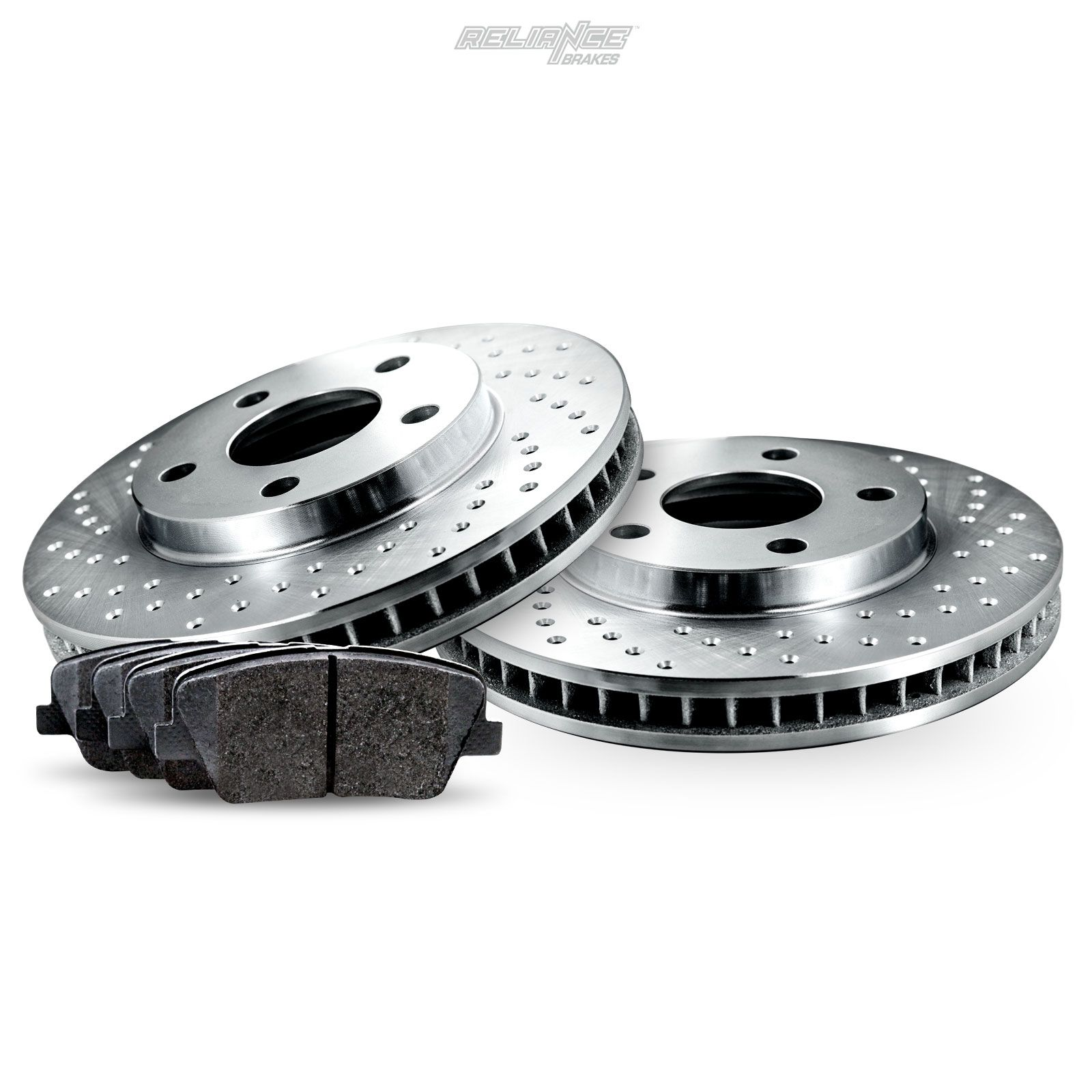 Chrysler Crossfire SRT-6 05 06 Brake Disc Rotors REAR