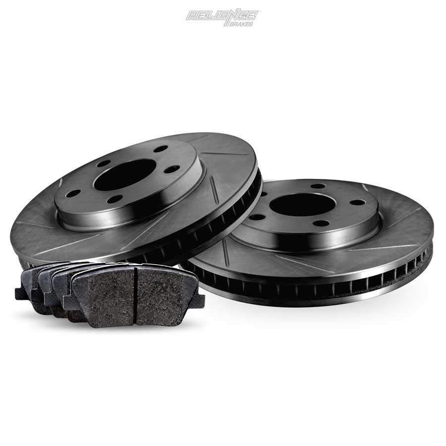 Rear Black Slotted Brake Rotors And Ceramic Pads 2006 2011 Disc System Braking Business Photo Gallery Hours Monfri 600 Am 630 Pm Pst
